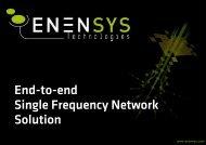 ENENSYS Corporate Presentation - Dveo.com