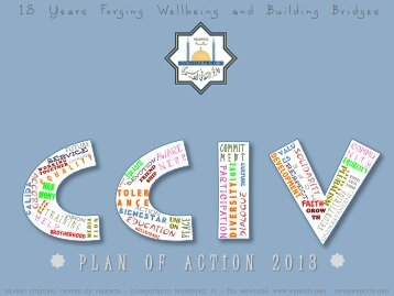 PLAN OF ACTION 2013 18 Years Forging Wellbeing and Building ...