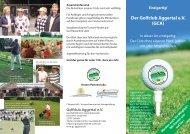 Infoflyer - Golfclub Aggertal e.V.