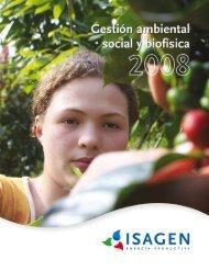 1 ISAGEN S.A.  E.S.P. • INFORME AMBIENTAL • 2008