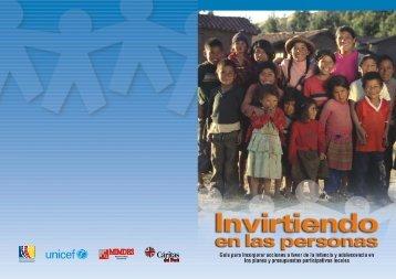 MIMDES - Biblioteca Virtual de la Cooperación Internacional