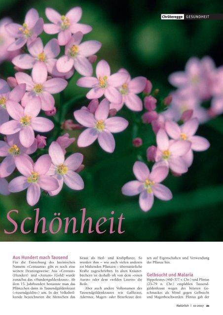Annette Weinzierl; Natürlich, 10-2007 (PDF, 590 KB