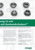 Drehen oder Kaltumformen? - KOHLHAGE Fasteners - Page 6