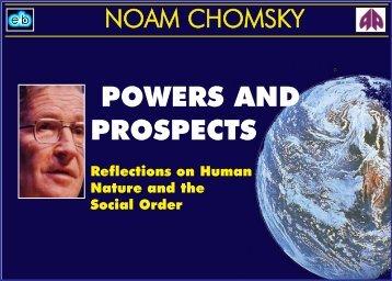 Noam Chomsky - Powers and Prospects.pdf