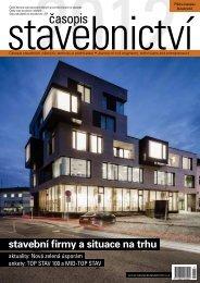 stavební firmy a situace na trhu - Časopis stavebnictví