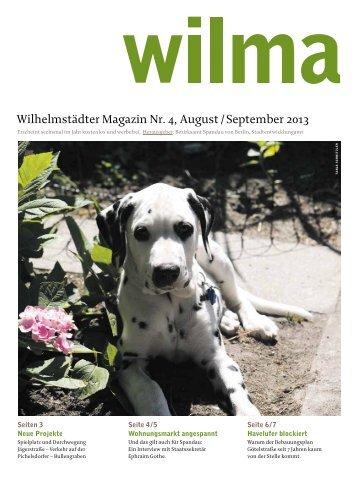 Wilhelmstädter Magazin Nr. 4, August / September 2013