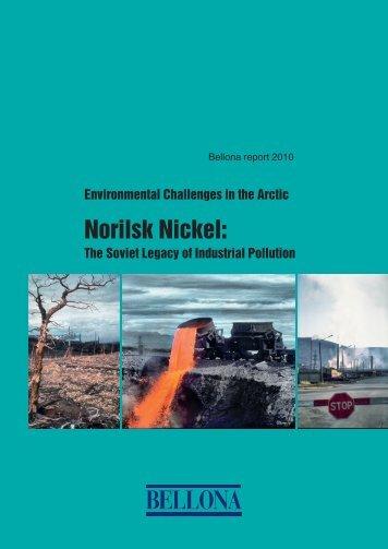 Norilsk Nickel: The Soviet Legacy of Industrial Pollution - Bellona