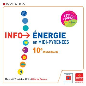 Programme et coupon-réponse (.pdf) - Région Midi-Pyrénées