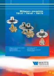 doc_mitigeurs_encastrés_T8137-T8147_T8175 ... - WATTS industries