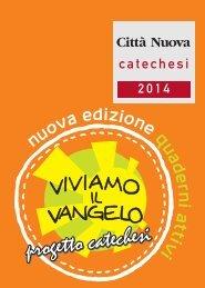 Catalogo catechesi - Città Nuova Editrice
