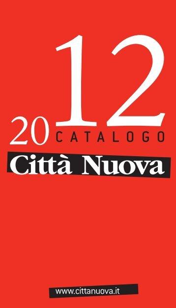 2012CATALOGO - Città Nuova Diffusione