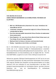 CHIC BEIJING 2013 - ZiTex