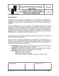 Primeros Auxilios - Universidad Casa Grande