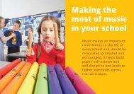 Making the most of music in your school