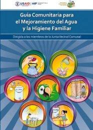 guía comunitaria para el mejoramiento del agua y la higiene familiar