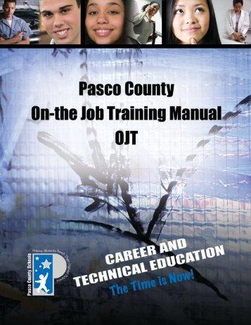 OJT Handbook - Pasco County Schools