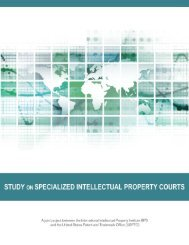 Study on Specialized Intellectual Property Courts - International ...