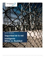 Seguridad de la red inteligente Mitos vs. Realidad - Silver Spring ...