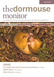 The Dormouse Monitor Autumn 2011 - People's Trust for ...
