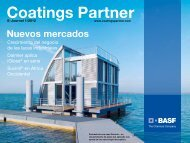Nuevos mercados - BASF Coatings GmbH