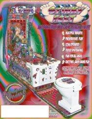 Stinky Feet Game Brochure - BMI Gaming