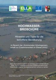 Hochwasserbroschüre für Bürger - Lüneburg