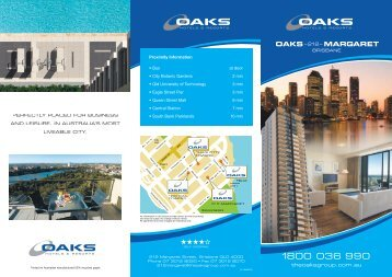 theoaksgroup.com.au - Oaks Hotels & Resorts