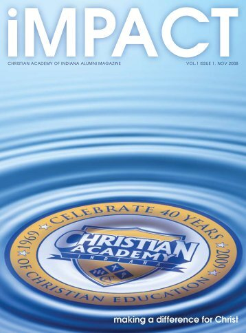 making a difference for Christ - Christian Academy School System