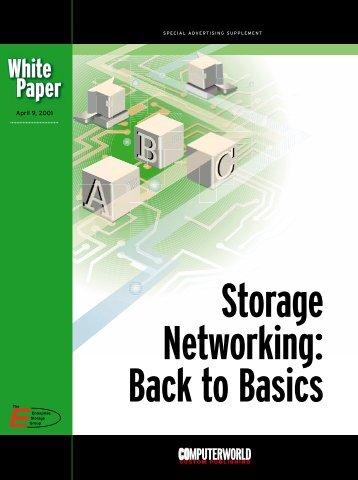 Storage Networking - Computerworld