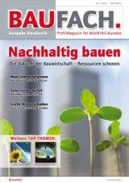 vorwort/inhalt - Bauking AG