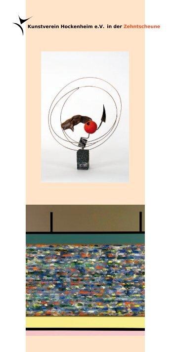 Kunstverein Hockenheim e.V. in der Zehntscheune e Titel 17 cm e ...