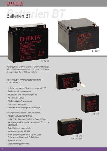 Batterien BT - allnetstore.de