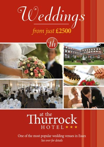 packages available from just £2500 - Thurrock Hotel