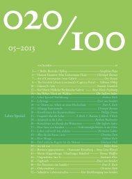 05‒2013 - Vonhundert