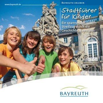 Stadtführer für Kinder - Stadt Bayreuth