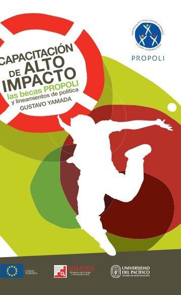 01 Becas Propoli.indd - Biblioteca Virtual de la Cooperación ...