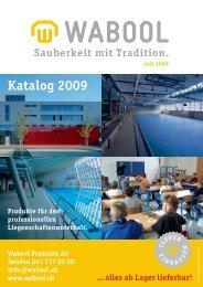 Katalog 2009 - Wabool