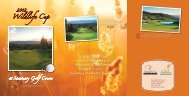 2012 Wildlife Cup Presented by RE/MAX, LLC Sanctuary Golf ...