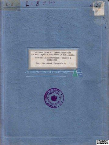 m - Autoridad Nacional del Agua