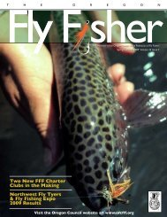 Summer 2009 - Federation of Fly Fishers
