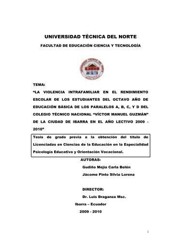 VIOLENCIA INTRAFAMILIAR.pdf - Repositorio UTN