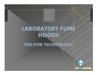 Laboratory Fume Hoods - The New Technology