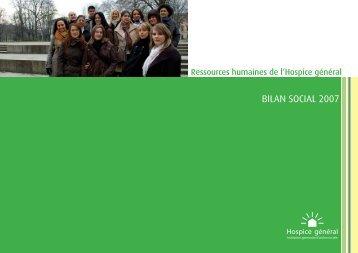 bilan social BAT.indd - Hospice général