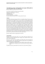 Assessing the accuracy of hexagonal versus square tilled grids in ...