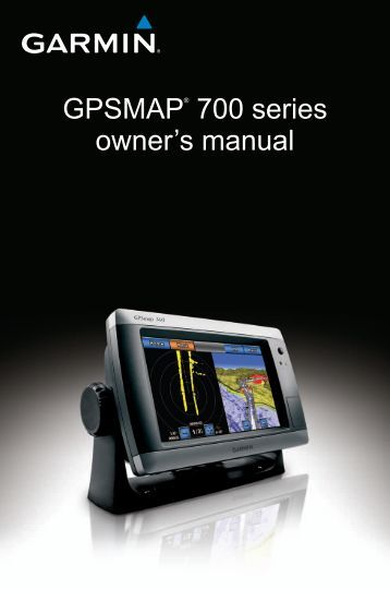Garmin GPSMAP 740s Sounder User Manual, English - GPS City
