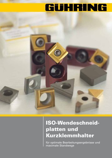ISO-Wendeschneidplatten VHM