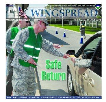 RANDOLPH AIR FORCE BASE 64th Year • No. 22 • JUNE 4, 2010