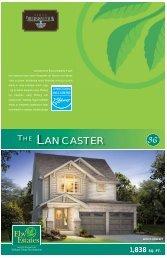 THE LANCASTER - Reid's Heritage Homes