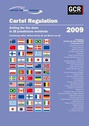 Cartel Regulation 2009 - ENS