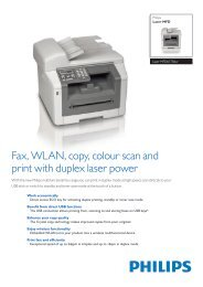 Fax, WLAN, copy, colour scan and print with duplex laser power